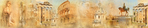 Скинали - Винтажные снимки Рима