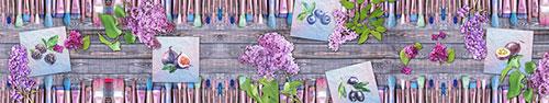 Скинали - Творческий коллаж - рисунки, кисти, вдохновение