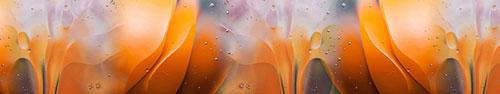 Скинали - Абстрактные макро снимки с каплями на поверхности