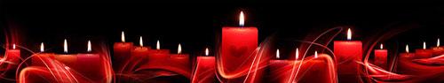 Скинали - Романтический вечер с ароматом красных свечей