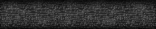 Скинали - Доска с математическими формулами