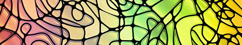 Скинали - Разноцветный абстрактный фон в стиле витража