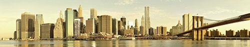 Скинали - Бруклинский мост в Нью-Йорке