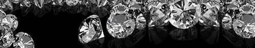 Скинали - Большие бриллианты на черном фоне