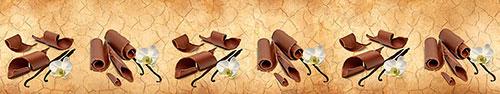 Скинали - Кусочки шоколада на состаренном фоне