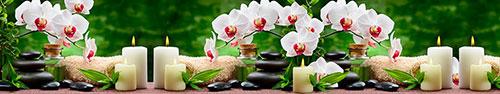 Скинали - Спа коллаж с белыми орхидеями