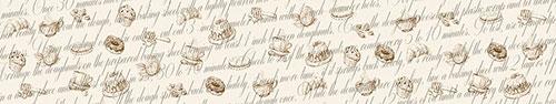 Скинали - Фон с рисунками напитков и сладостей