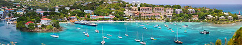 Скинали - Причал-город на Карибских островах