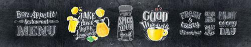 Скинали - Надписи мелом для вашей кухни