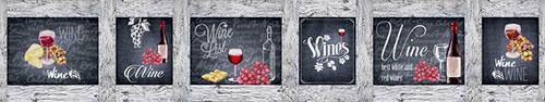 Скинали - Рисунки и надписи на тему вина
