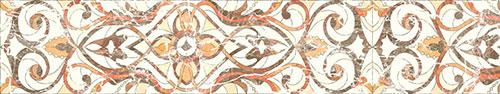 Скинали - Светлый фон-абстракция с имитацией техники витража