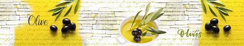 Скинали - Черный оливки в масле
