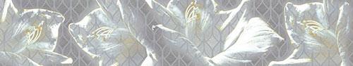 Скинали - Цветочная абстракция с белой лилией