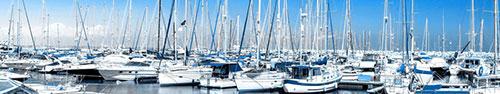 Скинали - Яхты, лодки в заливе