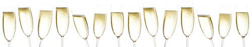 Скинали - Бокалы шампанского