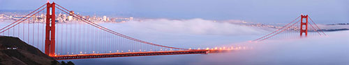Скинали - Золотые ворота в Сан-Франциско