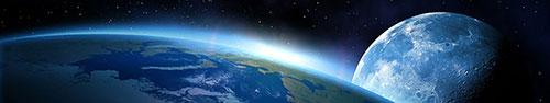 Скинали - Земля на фоне луны