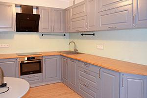 Скинали для фиолетовой и сиреневой кухни  - 22409