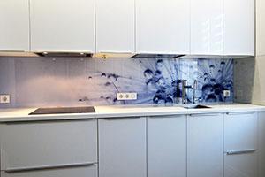 Капли для скинали в интерьере кухни - 22480