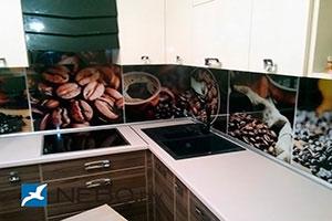 Кофе для скинали в интерьере кухни - 21665