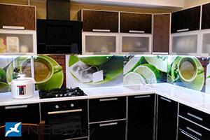 Чай для скинали в интерьере кухни - 21682