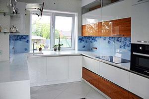 Драгоценности для скинали в интерьере кухни - 22302