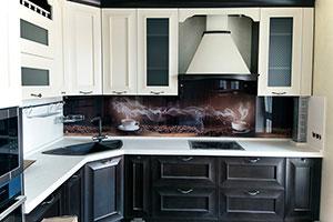 Кофе для скинали в интерьере кухни - 22304