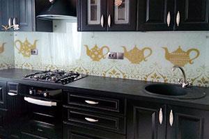 Чай для скинали в интерьере кухни - 22256