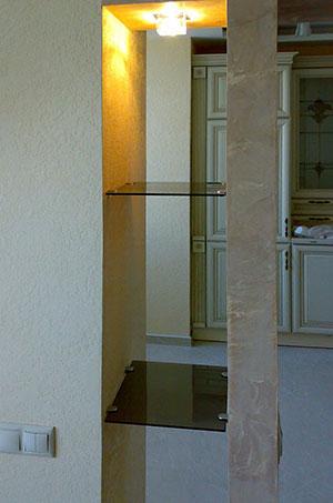Полки из стекла - фото - 22751